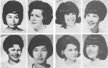 Richard Speck's victims: (Top Row - Left to Right) Valentina Paison