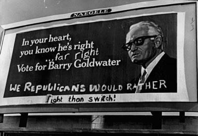 Barry Goldwater sign